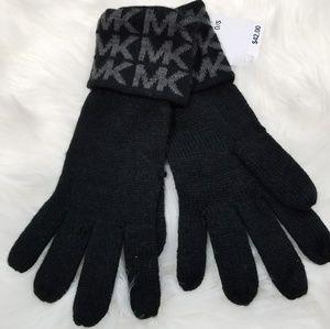 MK black gloves
